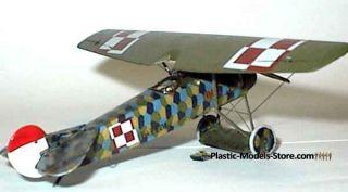 Fokker E V D VIII German Aircraft WWI 1 72 Roden 004