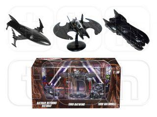 Batwing Returns Batboat Die Cast Hot Wheels 3pc Set Batman 1 50