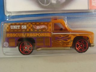 Hot Wheels Color Shifters x Rays Rescue Ranger Mint on Excellent Card