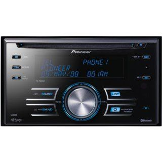 Pioneer FH P8000BT Double Din In Dash CD//WMA/AAC