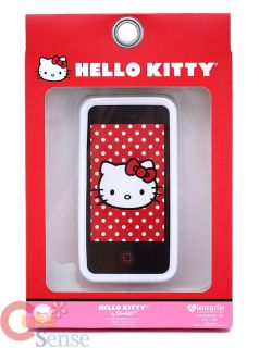 Hello Kitty Apple I Phone 4G Case Silicone Loungefly