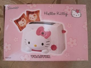 Vintage Hello Kitty Toaster Sanrio Pink Brand New CIB Anime