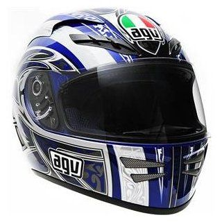AGV Stealth Razor Helmet   Small/Blue :  : Automotive
