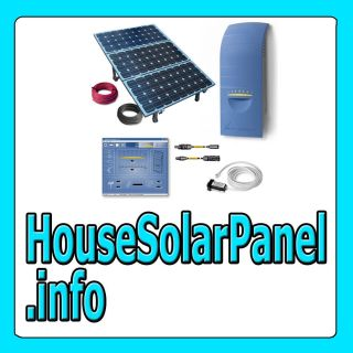 House Solar Panel info HOME PANELS CELL ENERGY SYSTEM POWER KIT WEB