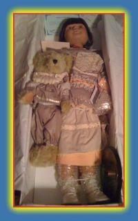 Alegria Auth Heirloom Duck House Doll Teddy 0385 5000