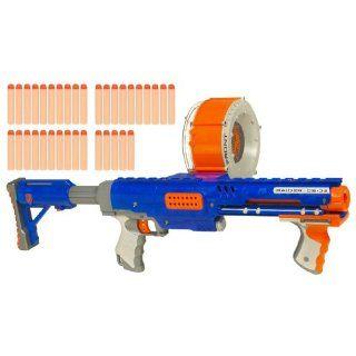 Nerf N Strike Raider Rapid Fire CS 35 Dart Blaster   Blue