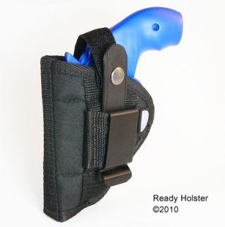 Horiz. Shoulder Holster Ruger LCR 1.87 barrel VIDEO