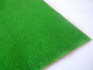 Model Train Grass Mat Short Bright Green 0 5 0 5M HO N
