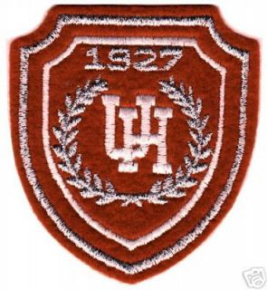 Houston Cougars NCAA College 3 25 Shield Logo Patch