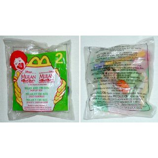 McDonalds MULAN AND CRI KEE Pop Up Toy #2 Toys & Games