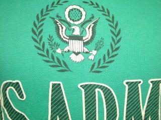 Vtg 80s U s Army T Shirt Fort Sam Houston L Thin Soft