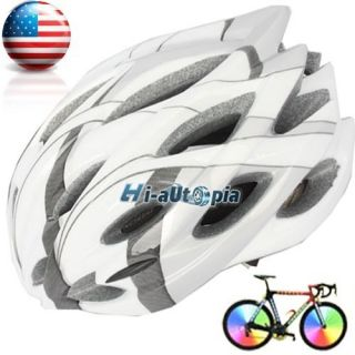 Bike Helmet Bicycle Cycling Sports Road with Insect Nets Hoar