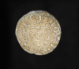 Medieval English King Henry III Hammered Silver Penny Coin   Brussels