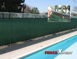 Fence Screen Mesh Slat Privacy Fabric Premium Fence Cover