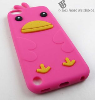 CUTE DUCK SOFT SILICONE RUBBER SKIN CASE COVER APPLE IPOD TOUCH 5 5TH