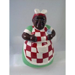 AUNT JEMIMA Ceramic COOKIE JAR Black Americana NEW Home