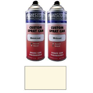 12.5 Oz. Spray Can of Diamond White Pearl Tricoat Touch Up Paint for