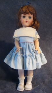 1949 1953 IDEAL TONI DOLL 14 UNCOMMON GREEN EYES