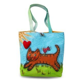 BrightWorld Cat Large Stylish/Colorful Tote Bag Beauty