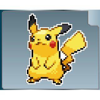 PIKACHU Sprite from Pokemon vinyl decal sticker No.1 4