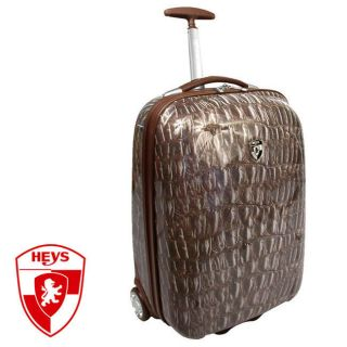 Heys XCASE Exotic 20 Lightweight Luggage Carry on Crocodile New