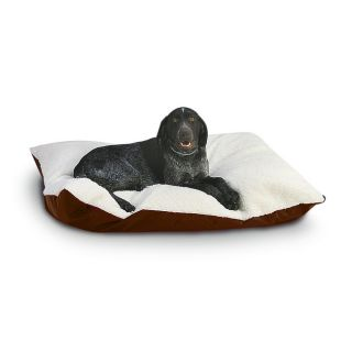 Hidden Valley Extra Large Chocolate Rectangle Ultra Sherpa Dog Bed