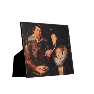 Self portrait of the Rubens and his wife, Isabella Display Plaques