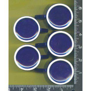 14 , Cobalt Blue, Exterior, Espresso, Cups, White Interior