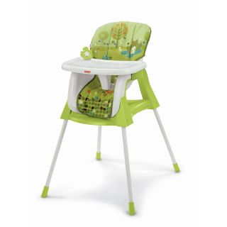 Fisher Price 4 in 1 High Chair Bouncer Seat and Swing