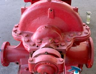 Peerless Horizontal Fire Protection Pump 1500 GPM 150HP