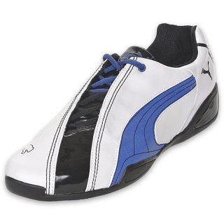 Puma Mens Panigale 50 Mega White/Black/Royal Blue