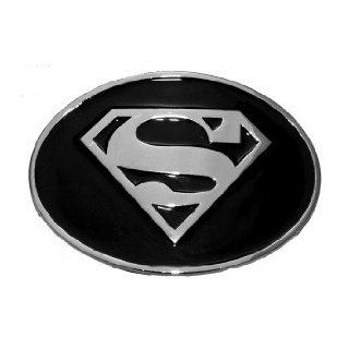 Officially Licensed Dc Comic Superman Logo Black and