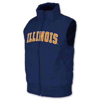 Colosseum NCAA Illinois Fighting Illini Nordic Team Womens Vest