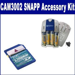 Coby CAM3002 SNAPP Mini Camcorder Accessory Kit includes