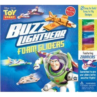 Buzz Lightyear Foam Gliders (Disney Pixar Toy Story) Simple to build