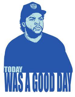 Ice Cube Good Day Rap Hip Hop Music T Shirt s M L XL