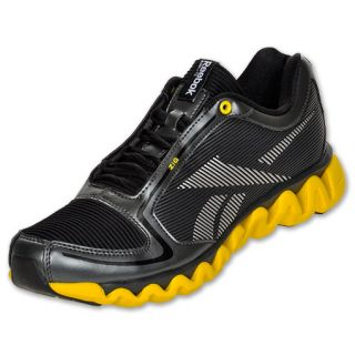 Reebok ZigLite Run Mens Running Shoes Grave/Black