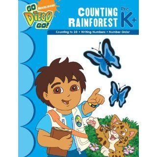 Diegos Counting Rainforest PreK+ (Nick Jr. Workbooks) Learning