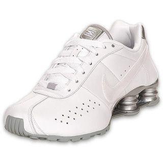 white nike shox for women