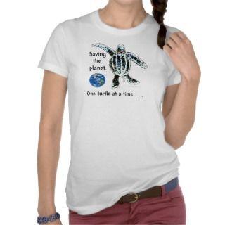 Tattoo Sea Turtle T shirts