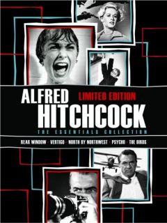 Alfred Hitchcock Essentials New DVD Rear Window Vertigo Northwest