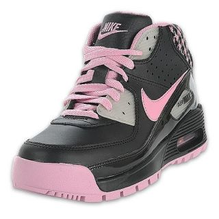 Nike Kids Max 90 Boot Black/Pink