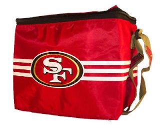 San Francisco 49ers NFL Insulated Square Lunch Bag Box