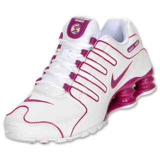 Womens Nike Shox NZ White/Rave Pink