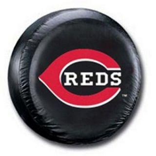 spare tire cover cincinnati reds mlb baseball black spare tire cover
