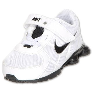 Nike Shox Turbo 12 Toddler Shoes White/Black/Grey