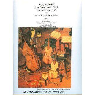 Borodin Alexander Nocturne String Quartet No. 2 Op. 8