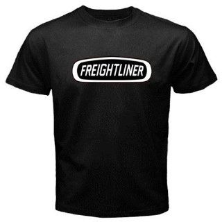 Freightliner Trucks Logo New Black T shirt Size L