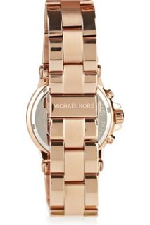 Michael Kors Rose gold plated stainless steel watch   40% Off