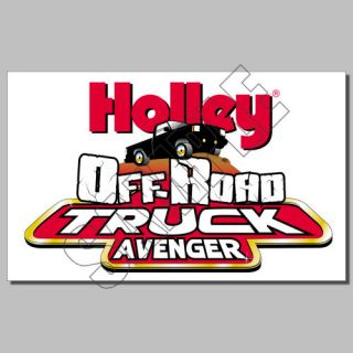 Decal Stickers Auto Parts Holley Logo Lo Rider Dominator Equipped